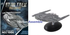 Star Trek Discovery Starships Collection #17 USS T'Plana-Hath NCC-1004 Starship Eaglemoss